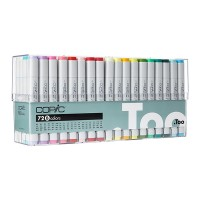 Copic Marker 72pc - Set 2