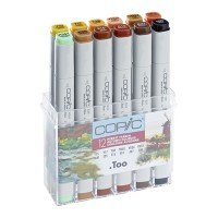 Copic Marker 12pc - Autumn Colors