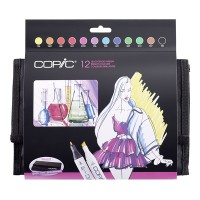 Copic Marker 12pc Colors sets in Wallet