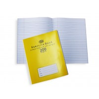 NoteBook 200pgs Single Line with Left Margin