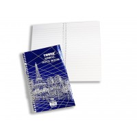 Writing pad Tower A5 Size with Side Spiral