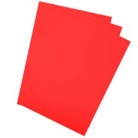 SADIPAL SIRIO Card Board Colour Sheets A4-21x29.7cm-170GMS-Red