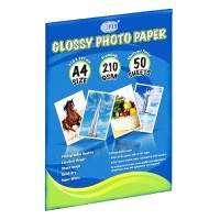 Photoglossy Paper (FIS) 210g A4 (Pack of 50sheets)