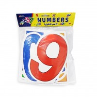 Educational Cards - English Numbers