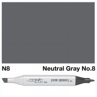 N 8 NEUTRAL GRAY COPIC MARKER