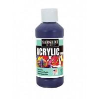 SARGENT ACRYLIC REGULAR 8 OZ / CB VIOLET / SPECTRAL VIOLET