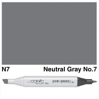 N 7 NEUTRAL GRAY COPIC MARKER