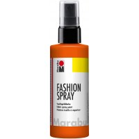 Marabu Fashion Spray 100ml - 023 Red Orange