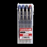 Uniball SXN210 Jetstream Retract 1.0mm Wallet of 4 Colors