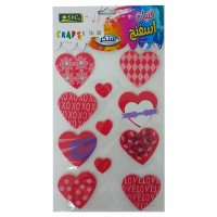 Eva Sponge Shapes - Hearts