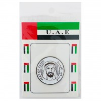 Magnetic Iron Badge - Year of Zayed