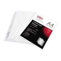 Deli 11-hole Sheet Protector A4 0.035mm 100pk