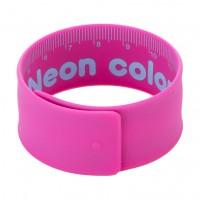 Deli Slap Bracelet Ruler Steel c/silicon 18cm 4C