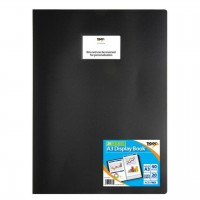 Tiger A3 20 Pockets Flexicover Display Book Presentation Folder Portfolio