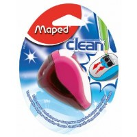 Maped Sharpner 2Hole Clean Blister Pack