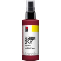 Marabu Fashion Spray 100ml - 034 Bordeaux
