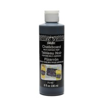 Folkart Chalkboard Multi Surface Paints Chalkboard Multi Surface Black 8oz.
