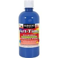 Sargent ART-TIME WASHABLE PAINT - 16 OZ. BLUE