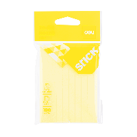 Deli To-do Notes 76x101mm 3''x4'' 100 sheets Yellow