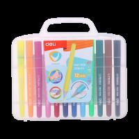 Deli Felt Pen 12 colors - U Touch