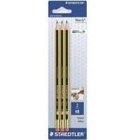 Staedtler Noris Pencil with Rubber Blister of 3Pcs