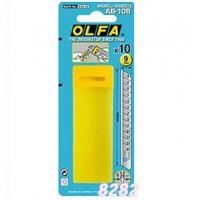 Olfa AB-10B Standard Spare Blades Paak of 10pcs