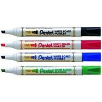 Pentel MW86 White Board Marker Chisel Tip
