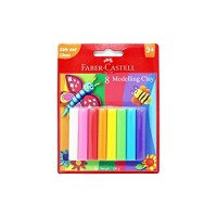 FABER-CASTELL 8 Modelling Clay 100 GM Blister