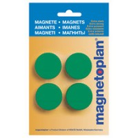MAGNETOPLAN MAGNETIC – DISCOFIX MAGNUM (ON BLISTER) Size 13mm, 34mm Dia RED