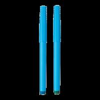 Uni-ball UB 100 Roller pen Pack of 2 Blue and Black