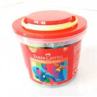 FABER-CASTELL 10 Modelling Clay 500 GM Plastic Bucket