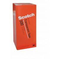 Scotch Clear Tape in Tower Box 500-1236C. 1/2 x 36 yd (12mm x 33m). 12 rolls/box