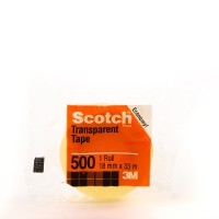 Scotch Clear Tape 500 in Tower Box 500-3436C. 3/4 x 36 yd (19mm x 33m). 8 rolls/box