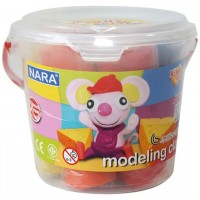 Kiddy Clay Modelling Clay set of 5 Color Bucket