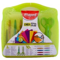 Maped Crea Cut 2 Scissors With 10 Blades