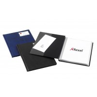 Display Book A4 Size Rexel 50 pockets PU Leather