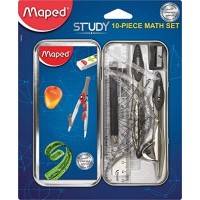 Maped Math. Set Study Geometry 10pc Blister pack