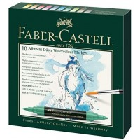 FABER-CASTELL Water colour Marker A. Durer 10ct Wallet