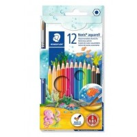 Staedtler Aquarell WaterColor pencil with brush Pack of 12 colors