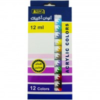Acrylic Colour Tube 12ml Set