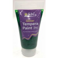 Glitter Tempera Paint 75ml Green 5233-009