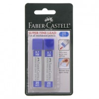 FABER-CASTELL LEADS 0.7mm-2pcBLISTER