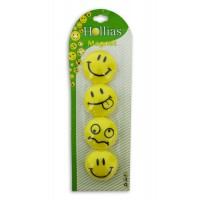 Smiley Magnets 40mm