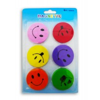 Smiley Sponge Magnets