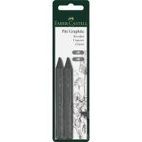 FABER-CASTELL Graphite Crayons PITT 2B/4B 2 in BC