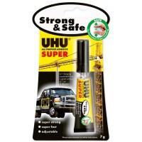 UHU SUPER STRONG & SAFE AN.39710 7G BLISTER