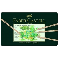 FABER-CASTELL PITT PASTELL PENCIL 60 COL.