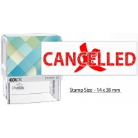 COLOP Printer 20 L04 CANCELLED White/Red Box Packing 150907