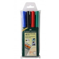 Overhead Marker Soluble (Fine) Fabercastell (multi colour) Pack
