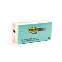 Post-it Super Sticky Notes Miami Collection 622-8SSMIA. 2x2 in. (47.6 mm x 47.6 mm). 90 sheets/pad, 8 pads/Pack
